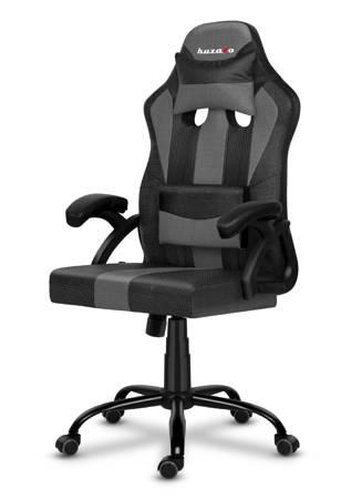 Fotel gamingowy Huzaro Force 3.0 Grey Mesh