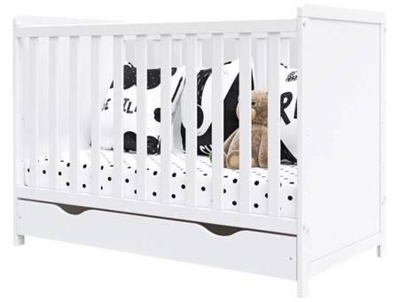 Łóżeczko Lilia 120x60 z szufladą