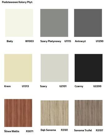Łóżko kontynentalne 90 z materacem, 20 kolorów do wyboru