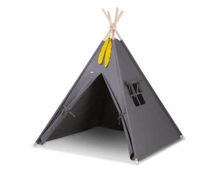 Namiot Tipi Antracyt + zawieszki pióra