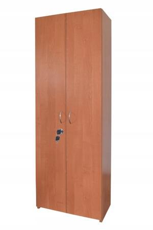 SZAFA BIUROWA REGAŁ z 5 półkami z zamkiem RODO 60cm