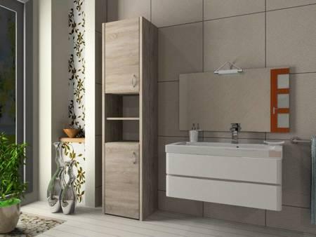 Słupek łazienkowy Adaś 2D 30 cm Sonoma