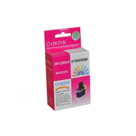 Tusz LC900M do drukarek Brother DCP-110C / 310CN / MFC210C / FAX 1835C, Magenta, 17,5 ml